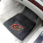 NBA - Cleveland Cavaliers Heavy Duty 2-Piece Vinyl Car Mats 17x27