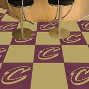 NBA - Cleveland Cavaliers 18x18 Carpet Tiles