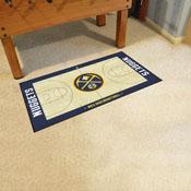 NBA - Denver Nuggets Large Court Runner 29.5x54