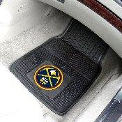 NBA - Denver Nuggets Heavy Duty 2-Piece Vinyl Car Mats 17x27