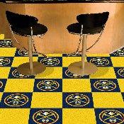 NBA - Denver Nuggets Carpet Tiles 18x18 tiles