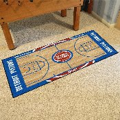 NBA - Detroit Pistons Large Court Runner 29.5x54