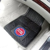 NBA - Detroit Pistons 2-pc Vinyl Car Mats 17x27