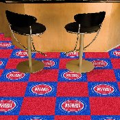 NBA - Detroit Pistons 18x18 Carpet Tiles