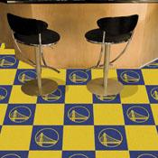 NBA - Golden State Warriors Carpet Tiles 18x18 tiles