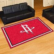 NBA - Houston Rockets Rug 5'x8'