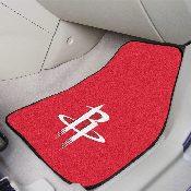 NBA - Houston Rockets 2-piece Carpeted Car Mats 17x27