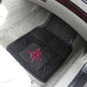 NBA - Houston Rockets Heavy Duty 2-Piece Vinyl Car Mats 17x27