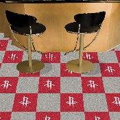 NBA - Houston Rockets Carpet Tiles 18x18 tiles