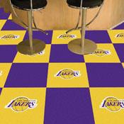 NBA - Los Angeles Lakers Carpet Tiles 18x18 tiles