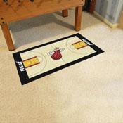 NBA - Miami Heat Large Court Runner 29.5x54
