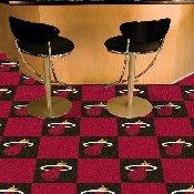 NBA - Miami Heat Carpet Tiles 18x18 tiles