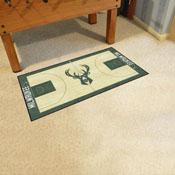 NBA - Milwaukee Bucks Large Court Runner 29.5x54