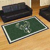 NBA - Milwaukee Bucks Rug 5'x8'