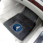 NBA - Minnesota Timberwolves Heavy Duty 2-Piece Vinyl Car Mats 17x27