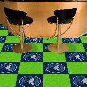 NBA - Minnesota Timberwolves Carpet Tiles 18x18 tiles
