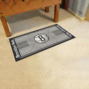 NBA - Brooklyn Nets Large Court Runner 29.5x54