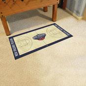 NBA - New Orleans Pelicans Large Court Runner 29.5x54