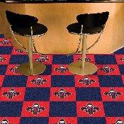 NBA - New Orleans Pelicans Carpet Tiles 18x18 tiles