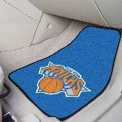 NBA - New York Knicks 2-piece Carpeted Car Mats 17x27