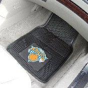 NBA - New York Knicks Heavy Duty 2-Piece Vinyl Car Mats 17x27
