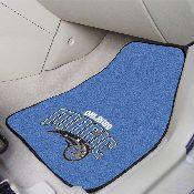 NBA - Orlando Magic 2-piece Carpeted Car Mats 17x27