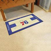 NBA - Philadelphia 76ers Large Court Runner 29.5x54