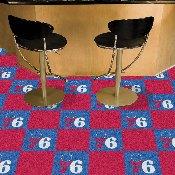 NBA - Philadelphia 76ers Carpet Tiles 18x18 tiles