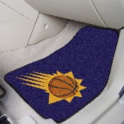 NBA - Phoenix Suns 2-piece Carpeted Car Mats 17x27