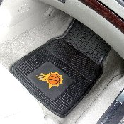 NBA - Phoenix Suns Heavy Duty 2-Piece Vinyl Car Mats 17x27