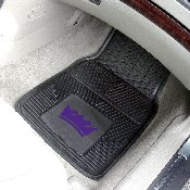 NBA - Sacramento Kings Heavy Duty 2-Piece Vinyl Car Mats 17x27