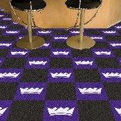 NBA - Sacramento Kings Carpet Tiles 18x18 tiles