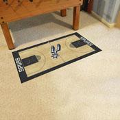NBA - San Antonio Spurs Large Court Runner 29.5x54