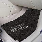 NBA - San Antonio Spurs 2-piece Carpeted Car Mats 17x27