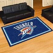NBA - Oklahoma City Thunder Rug 5'x8'