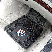 NBA - Oklahoma City Thunder Heavy Duty 2-Piece Vinyl Car Mats 17x27
