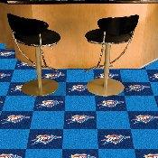 NBA - Oklahoma City Thunder Carpet Tiles 18x18 tiles