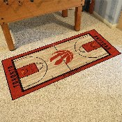 NBA - Toronto Raptors Large Court Runner 29.5x54