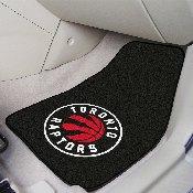 NBA - Toronto Raptors 2-piece Carpeted Car Mats 17x27