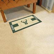 NBA - Milwaukee Bucks NBA Court Runner 24x44