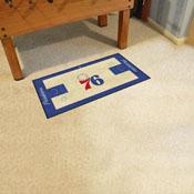 NBA - Philadelphia 76ers NBA Court Runner 24x44