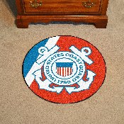 Coast Guard Round Rug 44 diameter 