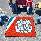 Coast Guard Tailgater Rug 5'x6'