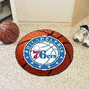 NBA - Philadelphia 76ers Basketball Mat 27 diameter