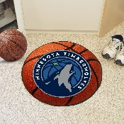 NBA - Minnesota Timberwolves Basketball Mat 27 diameter