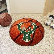 NBA - Milwaukee Bucks Basketball Mat 27 diameter
