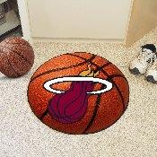 NBA - Miami Heat Basketball Mat 27 diameter