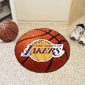 NBA - Los Angeles Lakers Basketball Mat 27 diameter