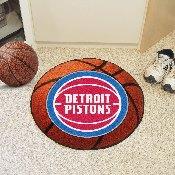 NBA - Detroit Pistons Basketball Mat 27 diameter