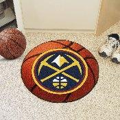 NBA - Denver Nuggets Basketball Mat 27 diameter